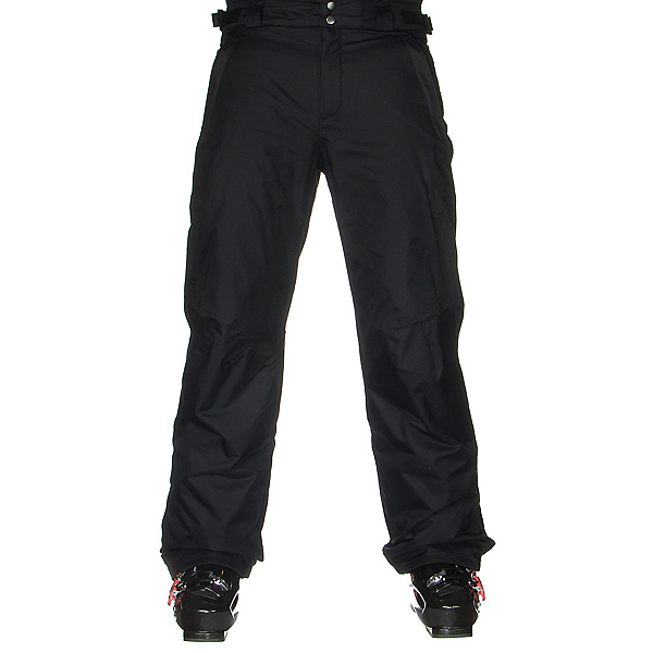 Columbia Bugaboo II Tall Mens Ski Pants, Black, 600