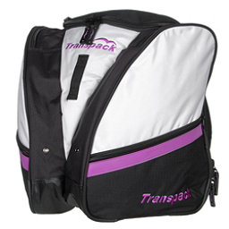 Transpack Compact Pro Ski Boot Bag 2017, White-Purple Electric, 256