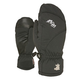 Level Mummies Womens Mittens, Black, 256