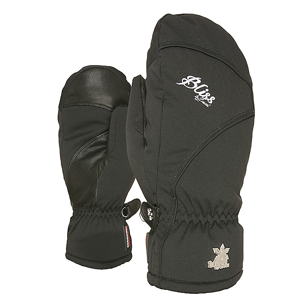 Level Mummies Womens Mittens, Black, 600