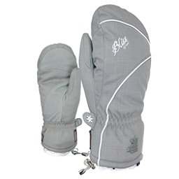 Level Mummies Womens Mittens, Grey, 256