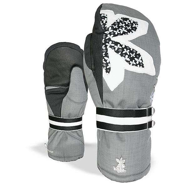 Level Oasis Womens Mittens, White Clay, 600