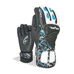 Level Worldcup CF Junior Ski Racing Gloves, Royal, 256