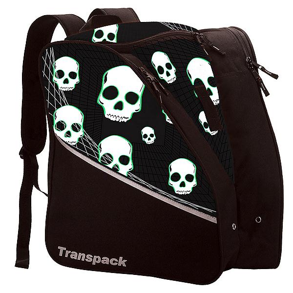 Transpack Edge Junior, Black-Green Skull, 600