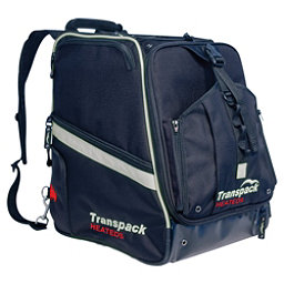 Transpack Heated Boot Pro Ski Boot Bag 2019, Black-Silver Electric, 256