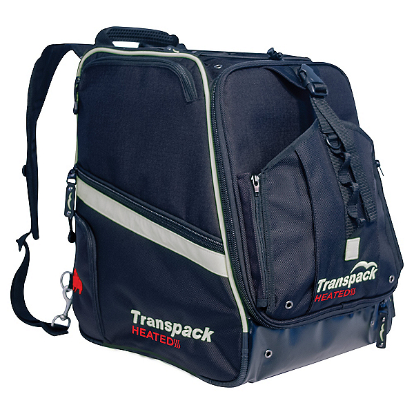 Transpack Heated Boot Pro Ski Boot Bag 2019, Black-Silver Electric, 600