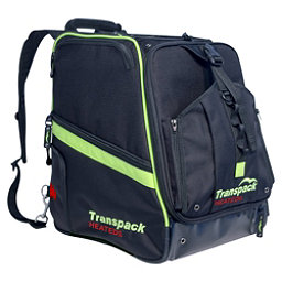 Transpack Heated Boot Pro Ski Boot Bag 2018, Black-Lime Electric, 256