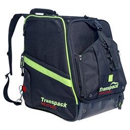 Transpack Heated Boot Pro Ski Boot Bag 2019, Black-Lime Electric, 256
