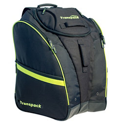 Transpack Competition Pro Ski Boot Bag 2019, Black-Yellow Electric, 256