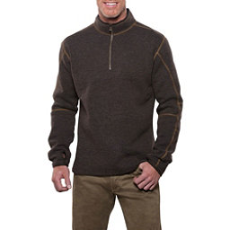 KUHL Thor 1/4 Zip Mens Sweater, Espresso, 256