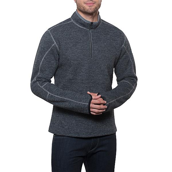 KUHL Thor 1/4 Zip Mens Sweater, Graphite, 600