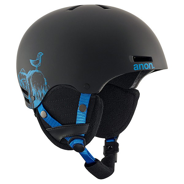 Anon Rime Kids Helmet 2018, Sulley Black, 600
