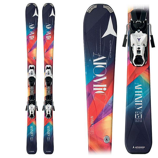 444f274d7f8d Atomic Affinity Pure Womens Skis with XTE 10 Bindings 2015