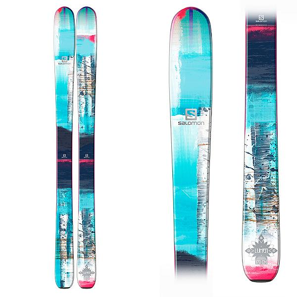 Salomon Q-96 Lumen Womens Skis, , 600