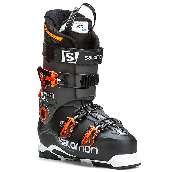 Salomon Quest Pro 90 Ski Boots, Black-Anthracite, 600