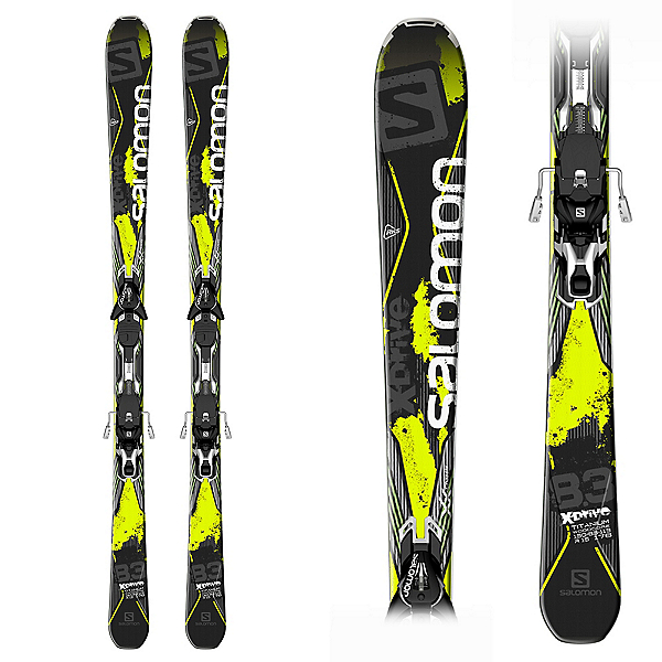 X Drive 8.3 Skis with XT 12 Bindings