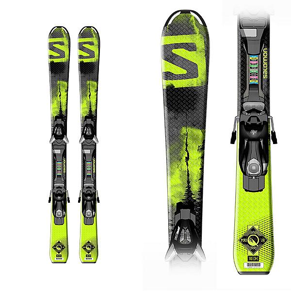 Salomon Q-Max Jr. S Kids Skis with Ezy 5 Bindings, , 600