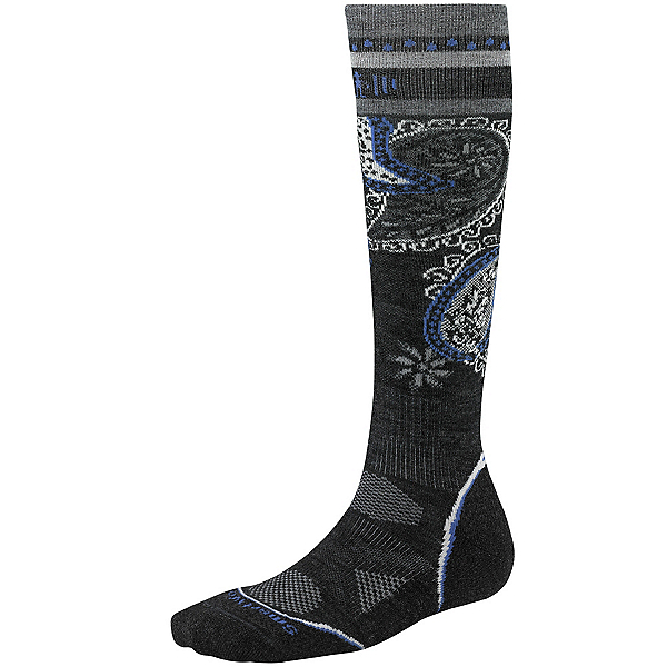 SmartWool PhD Ski Light Pattern Womens Ski Socks, , 600