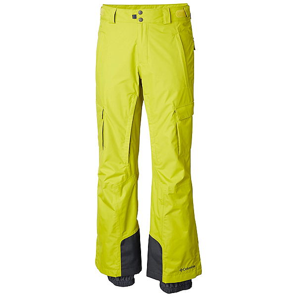 Columbia Ridge 2 Run II Mens Ski Pants, Ginkgo, 600