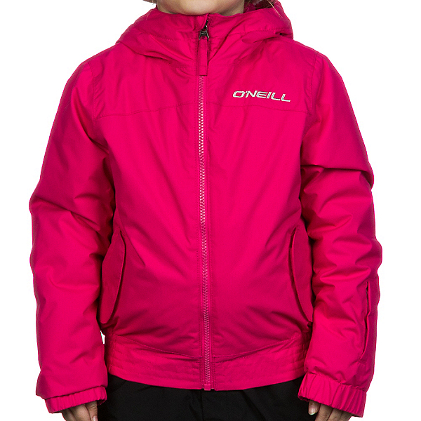 O'Neill Ruby Toddler Girls Ski Jacket, Pink Rose, 600
