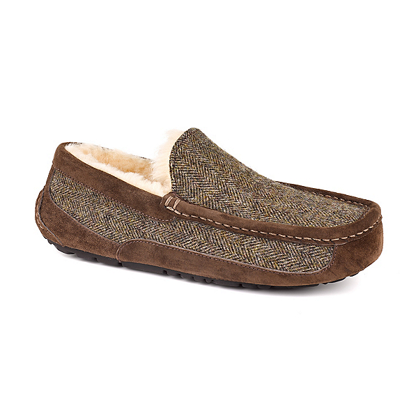 UGG Ascot Tweed Mens Slippers, , 600