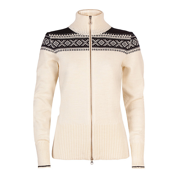Dale Of Norway Hemsedal Womens Sweater, Off White-Navy, 600