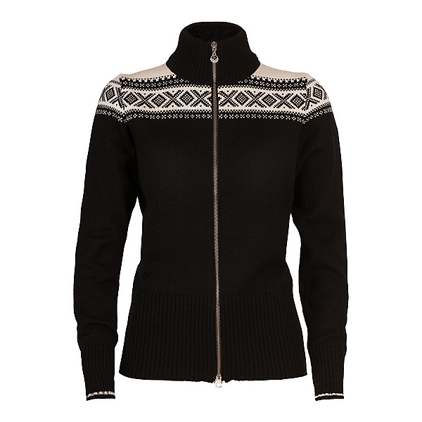 Dale Of Norway Hemsedal Womens Sweater, Black-Off White, 600