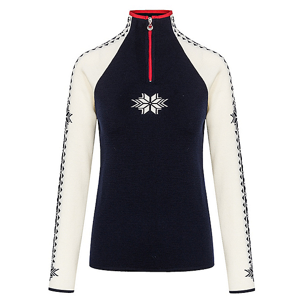 Dale Of Norway Geilo Womens Sweater 2022, Navy-Off White-Raspberry, 600