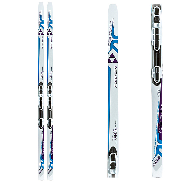 Fischer Desire My Style Womens Cross Country Skis with Bindings, , 600