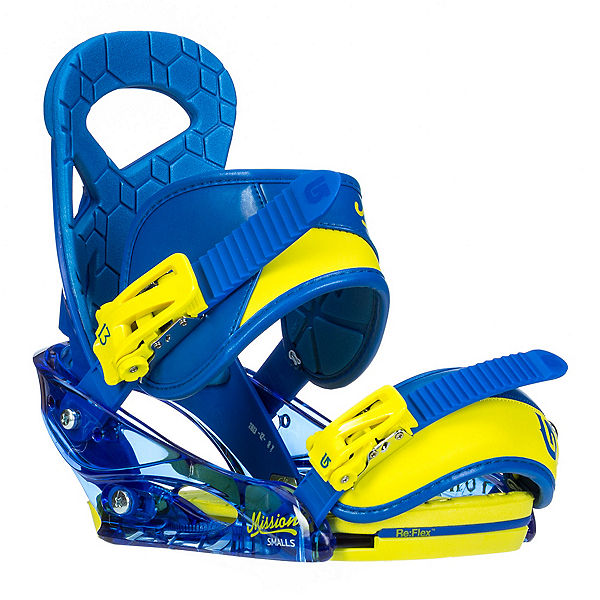 Burton Mission Smalls Kids Snowboard Bindings, , 600