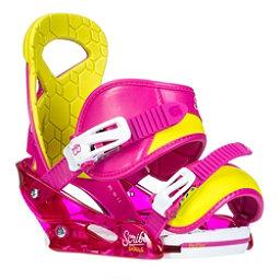 Burton Scribe Smalls Girls Snowboard Bindings, Razzle Dazzle Pink, 256