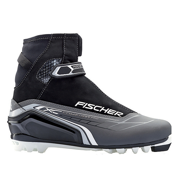 Fischer XC Comfort Pro NNN Cross Country Ski Boots, Silver, 600