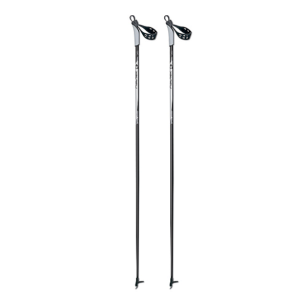 Fischer Cruiser Cross Country Ski Poles 2018, Black-White, 600