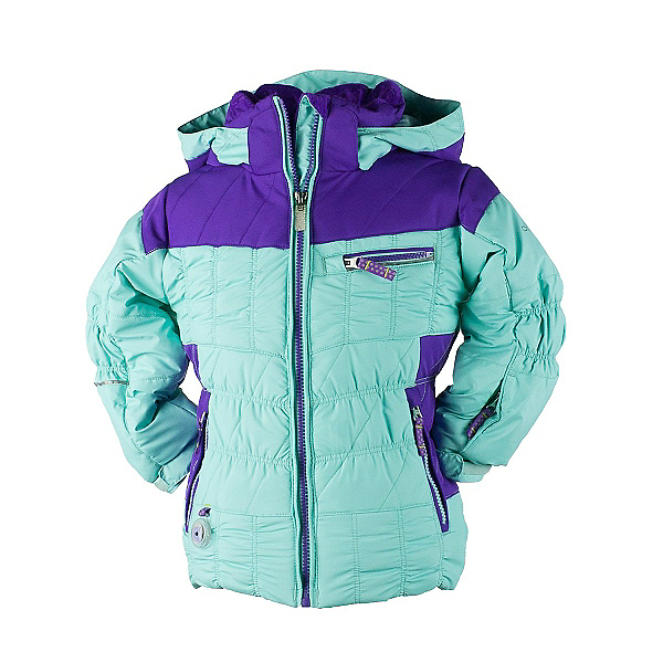 Obermeyer Gaia Toddler Girls Ski Jacket, Mint, 600