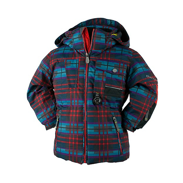 Obermeyer Big Time Toddler Boys Ski Jacket, El Wolf Plaid, 600