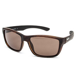 SunCloud Mayor Sunglasses, Burnished Brown-Brown Polarized, 256