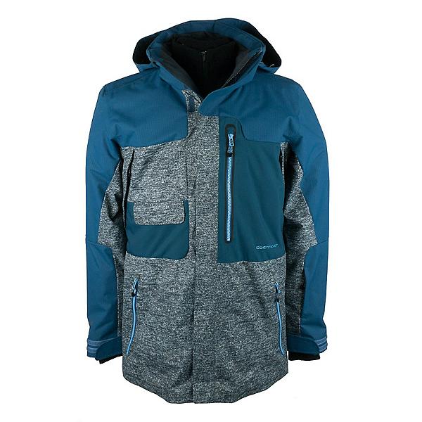 Obermeyer Oxnard Mens Insulated Ski Jacket, Ebony Heather, 600
