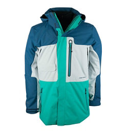 Obermeyer Oxnard Mens Insulated Ski Jacket, Jade, 256