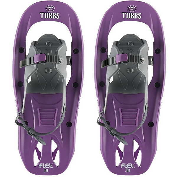 Tubbs Flex Jr Girls Snowshoes, Purple-White, 600