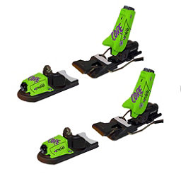 Knee Binding Core Ski Bindings, Neon Green, 256