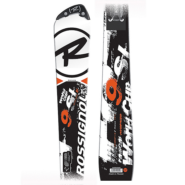 Radical World Cup SL Slant Nose Race Skis with Axial 2 140 Radical Bindings