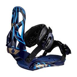 Roxy Team Womens Snowboard Bindings, Blue, 256