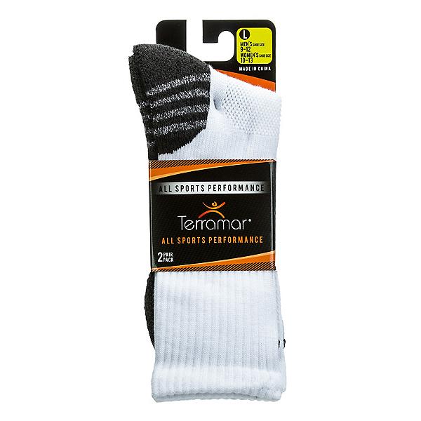 Terramar ASP CoolMax Mens Crew Socks 2 Pack, , 600