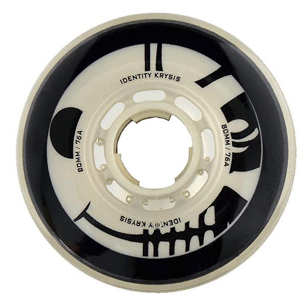 Rink Rat Identity Krysis 76A Inline Hockey Skate Wheels - 4 Pack, , 600