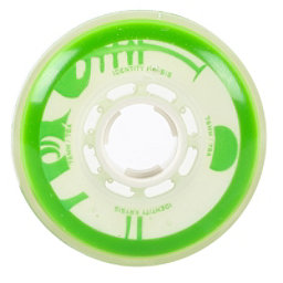 Rink Rat Identity Krysis 78A Inline Hockey Skate Wheels - 4 Pack, Green-White, 256