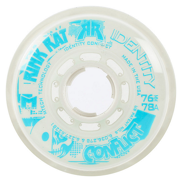 Rink Rat Identity Conflict 78A Inline Hockey Skate Wheels - 4 Pack, , 600