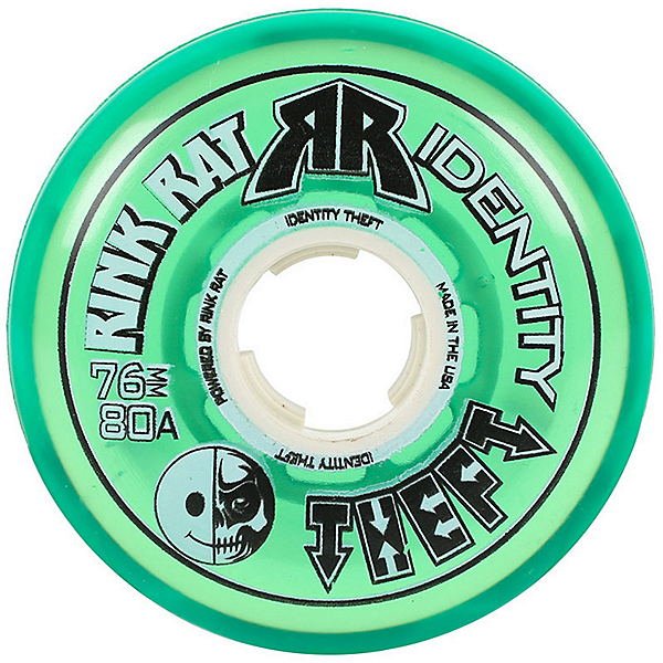 Rink Rat Identity Theft 80A Inline Hockey Skate Wheels - 4 Pack, , 600