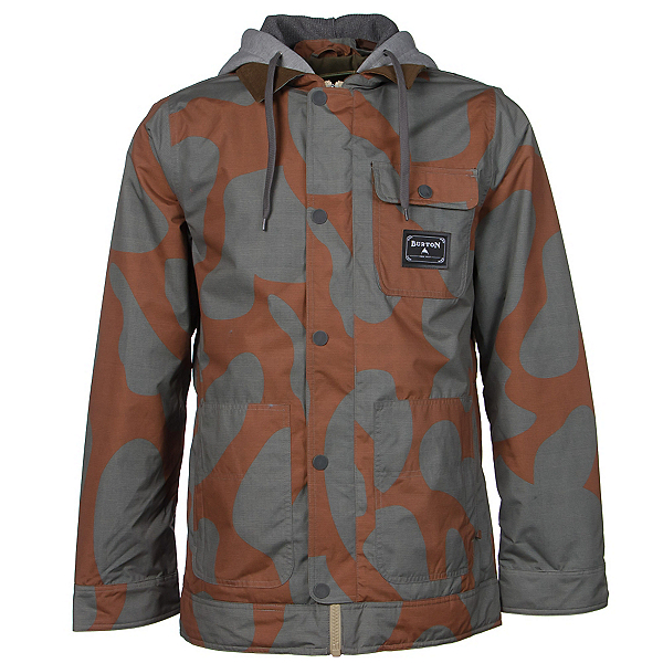 Burton Dunmore Mens Insulated Snowboard Jacket, Maui Sunset Thegiant, 600