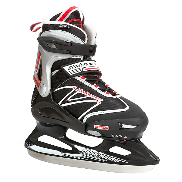 Bladerunner Micro XT Boys Ice Skates, Black-Red, 600