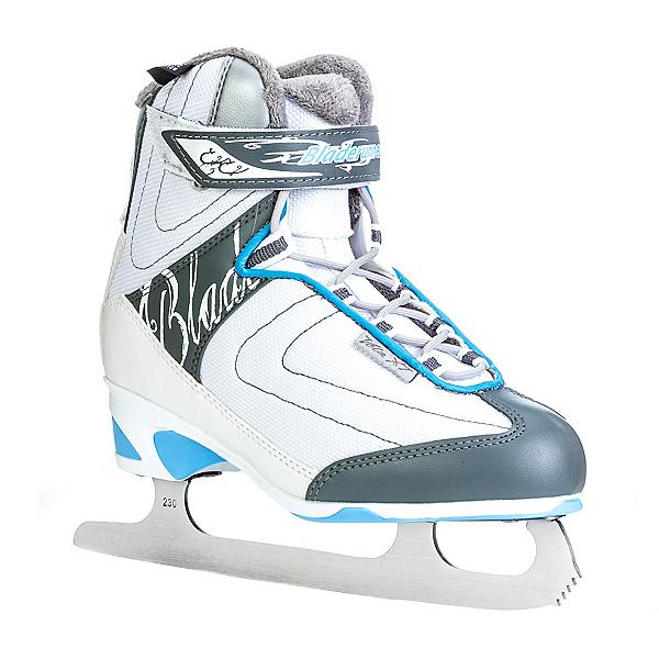 Bladerunner Vela XT Womens Figure Ice Skates, White-Light Blue, 600